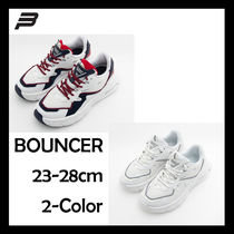 BEAN POLE Casual Style Unisex Collaboration Low-Top Sneakers