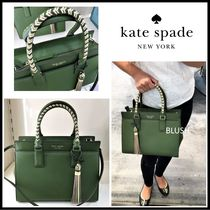 kate spade new york Saffiano 2WAY Plain Handbags