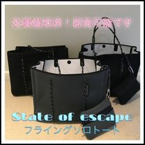 State of Escape Casual Style Unisex Plain Totes