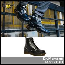 Dr Martens Unisex Street Style Leather Boots