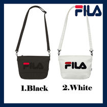 FILA Casual Style Unisex Collaboration Shoulder Bags