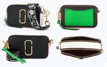 MARC JACOBS Snapshot Casual Style Street Style 2WAY Bi-color Leather Crossbody