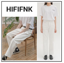 HI FI FNK Unisex Plain Cotton Oversized Jeans & Denim