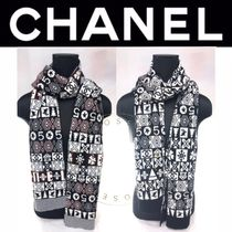 CHANEL ICON Street Style Heavy Scarves & Shawls
