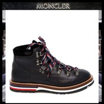 MONCLER Mountain Boots Rubber Sole Casual Style Street Style Plain