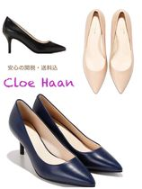 Cole Haan Plain Leather Pin Heels Stiletto Pumps & Mules