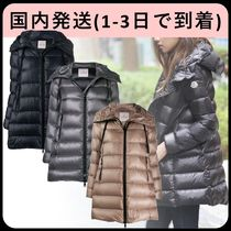 MONCLER SUYEN Plain Long Down Jackets