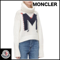 MONCLER Short Casual Style Street Style Plain Cropped