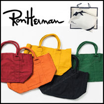 Ron Herman Casual Style Unisex Totes