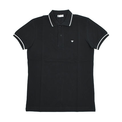 Polo Shirt With Bee Embroidery