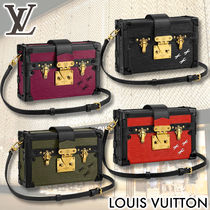 Louis Vuitton EPI 2WAY Leather Elegant Style Shoulder Bags