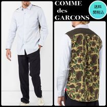 COMME des GARCONS Camouflage Long Sleeves Plain Cotton Shirts
