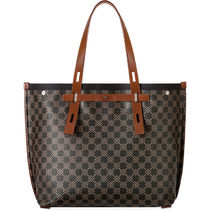 FURLA Other Plaid Patterns Canvas A4 2WAY Totes