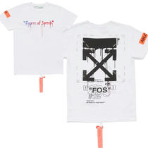Off-White Street Style Short Sleeves T-Shirts