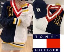 Tommy Hilfiger Casual Style Plain Sweaters