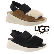 UGG Australia SILVERLAKE Open Toe Casual Style Footbed Sandals Flat Sandals