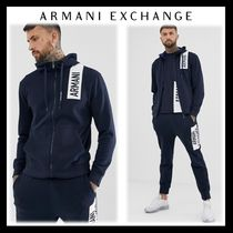 A/X Armani Exchange Blended Fabrics Street Style Top-bottom sets
