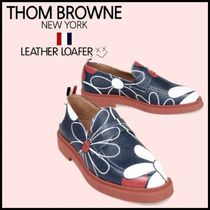THOM BROWNE Loafers Leather Loafers & Slip-ons