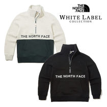 THE NORTH FACE WHITE LABEL Pullovers Unisex Street Style Long Sleeves Plain Cotton