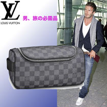 Louis Vuitton DAMIER GRAPHITE 2WAY Clutches