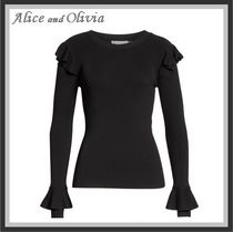 Alice+Olivia Cable Knit Long Sleeves Knitwear