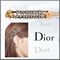 Christian Dior Barettes Casual Style Blended Fabrics Clips