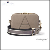 Aspinal of London 2WAY Leather Logo Shoulder Bags