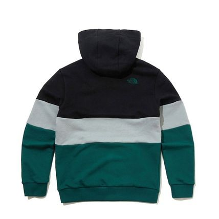 THE NORTH FACE Hoodies Unisex Long Sleeves Cotton Oversized Logo Outdoor Hoodies 3