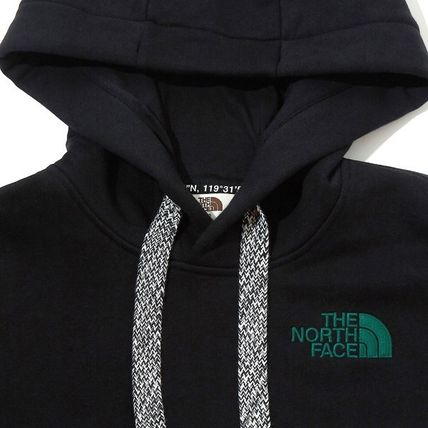 THE NORTH FACE Hoodies Unisex Long Sleeves Cotton Oversized Logo Outdoor Hoodies 4
