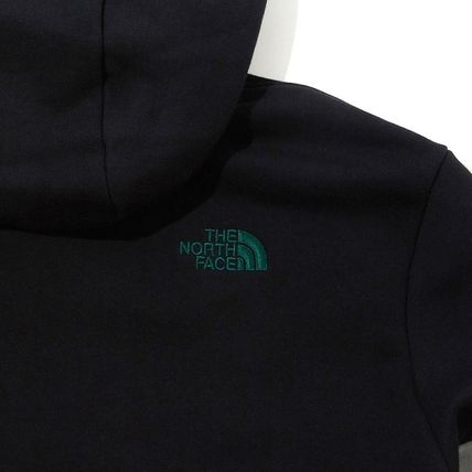 THE NORTH FACE Hoodies Unisex Long Sleeves Cotton Oversized Logo Outdoor Hoodies 7
