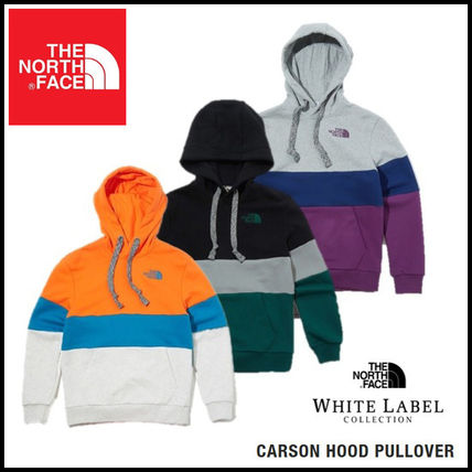 THE NORTH FACE Hoodies Unisex Long Sleeves Cotton Oversized Logo Outdoor Hoodies