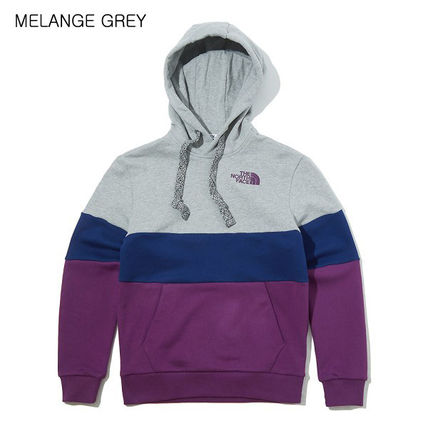 THE NORTH FACE Hoodies Unisex Long Sleeves Cotton Oversized Logo Outdoor Hoodies 8