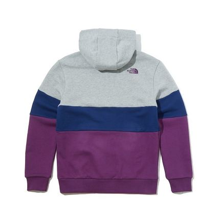 THE NORTH FACE Hoodies Unisex Long Sleeves Cotton Oversized Logo Outdoor Hoodies 9