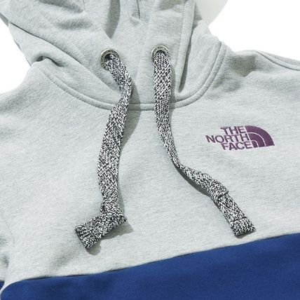 THE NORTH FACE Hoodies Unisex Long Sleeves Cotton Oversized Logo Outdoor Hoodies 10