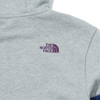 THE NORTH FACE Hoodies Unisex Long Sleeves Cotton Oversized Logo Outdoor Hoodies 12