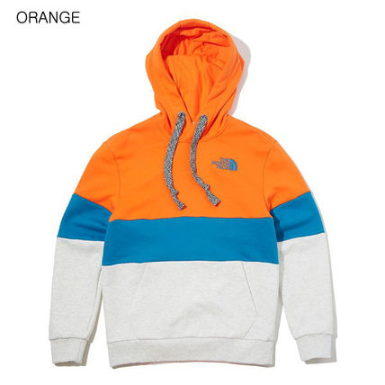 THE NORTH FACE Hoodies Unisex Long Sleeves Cotton Oversized Logo Outdoor Hoodies 13