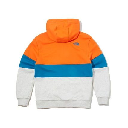 THE NORTH FACE Hoodies Unisex Long Sleeves Cotton Oversized Logo Outdoor Hoodies 14