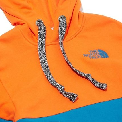 THE NORTH FACE Hoodies Unisex Long Sleeves Cotton Oversized Logo Outdoor Hoodies 15