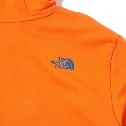 THE NORTH FACE Hoodies Unisex Long Sleeves Cotton Oversized Logo Outdoor Hoodies 17