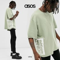 ASOS Crew Neck Sweat Street Style Short Sleeves