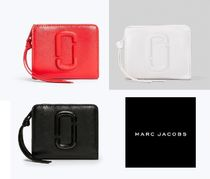 MARC JACOBS Snapshot Street Style Plain Leather Folding Wallets