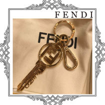 FENDI Unisex Blended Fabrics Keychains & Holders