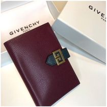 GIVENCHY Unisex Street Style Plain Folding Wallets