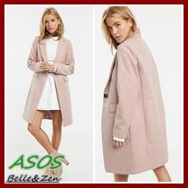 ASOS Casual Style Plain Medium Chester Coats