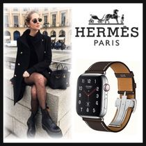 HERMES Casual Style Unisex Square Digital Watches