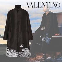 VALENTINO Collaboration Long Peacoats Coats