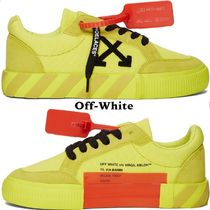 Off-White Blended Fabrics Collaboration Low-Top Sneakers