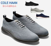 Cole Haan Blended Fabrics Plain Leather Oxfords
