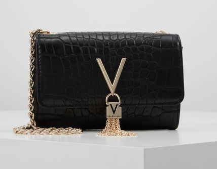Tassel Chain Party Style Crossbody Logo Shoulder Bags