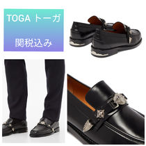 TOGA Loafers Blended Fabrics Plain Leather Loafers & Slip-ons